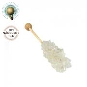 Zahar candel alb - Scurt - 100buc / cutie - A...