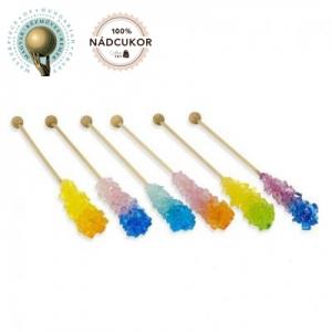 Zahar candel bicolor - 100buc / cutie - AMBALAT INDIVIDUAL