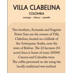Casino Mocca - Columbia - Villa Clabelina - 200g