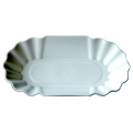 Cupping Tray Oval - 12buc/set - Alb - [Joe Frex]