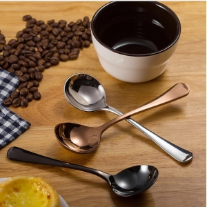 Lingurita Degustare Cafea - Cupping Spoon - Black