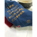 Șosete - LIFE IS TOO SHORT FOR BAD COFFEE - ...
