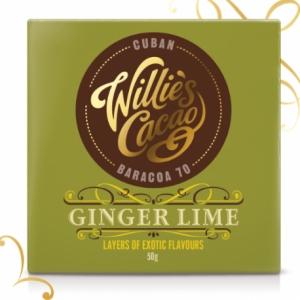 Willie's Tabletă Ginger Lime - Cuba