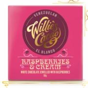 Willie's Tabletă - Raspberries&Cream - Venezuela