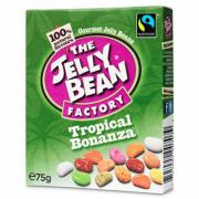 Jeleuri Jelly Bean, cutie - Amestec fructe tropicale 75g