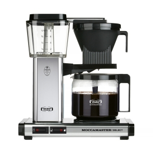 Cafetiera Moccamaster KBG 741 Select - Polished Silver