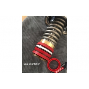Cafelat - Silicone Gasket - Modern Lever Priston Seal Red