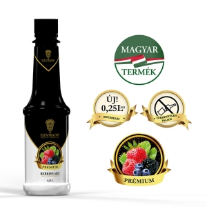Eldorado - Sirop Piure fructe de padure 40% - 0.25L