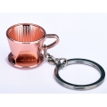 Breloc Barista - Dripper - Rose Gold