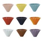 Origami ceramic Dripper M Yellow