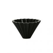 Origami ceramic Dripper M Black
