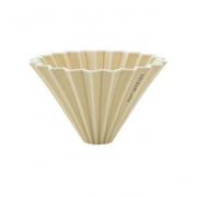 Origami ceramic Dripper M Mat Beige