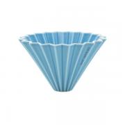 Origami ceramic Dripper M Mat Blue