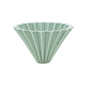 Origami ceramic Dripper M Mat Green