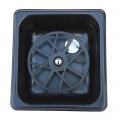 The Rinser - Flush Device Pitcher Rinser BLACK