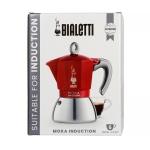 Bialetti New Moka Induction 6tz Red