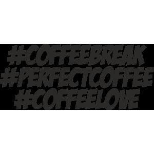 Pachet stickere - #coffeebreak