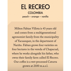 Casino Mocca - El Recreo - Columbia - Filter - 200g