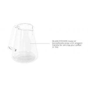 Glass pitcher Gina 0.75L