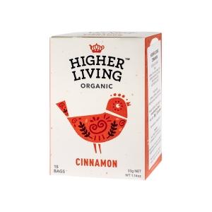 Higher Living Cinnamon - Ceai - 15 plicuri
