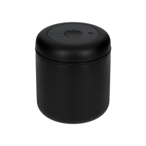 Fellow Atmos Vacuum Canister - 0.7l Matte Black Steel