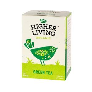 Higher Living Green Tea - Ceai - 20 plicuri