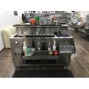Bar Mobil Complet - conectare 220V