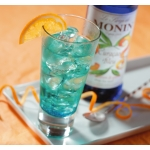 Sirop Monin - Blue Curacao - Sticla - 0.25L