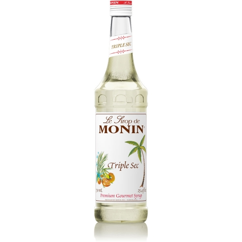 Sirop cocktail monin curacao triple sec 0 7l for Cocktail triple sec