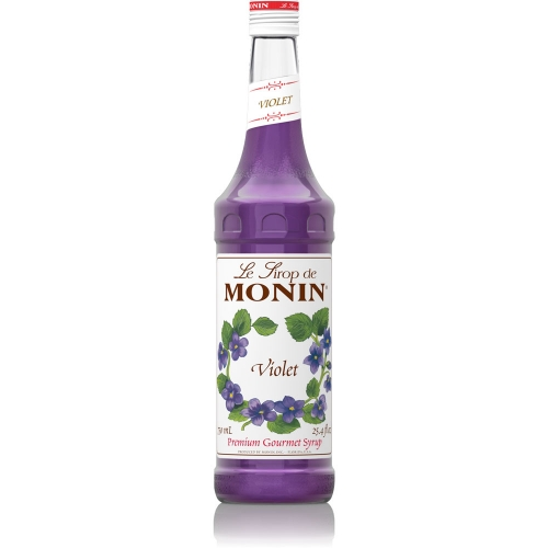 Sirop monin violette special taste 0 7l - Sirop de violette ...