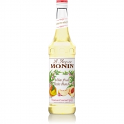 Sirop cocktail - Monin - Piersica Alba - Whit...