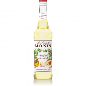 Sirop cocktail - Monin - Piersica Alba - White Peach - 0.7L