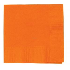 Servetele Cocktail - Orange - 100 Buc