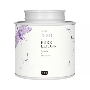 Paper & Tea - Pure Linden - Tea leaves - 60g tin