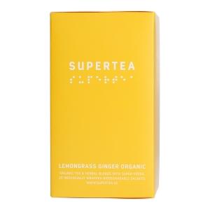 Teministeriet - Supertea Lemongrass Ginger Organic - 20 Plicuri de ceai