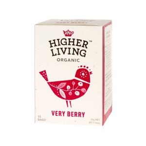 Higher Living Very Berry - Ceai - 15 plicuri
