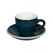 Loveramics Egg - Espresso 80 ml Cup and Saucer - Night Sky