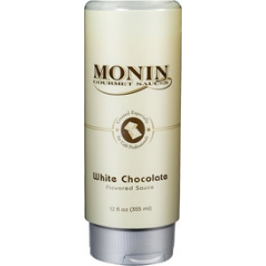Monin Gourmet Sauces - Ciocolata alba - White Chocolate - 0.5L