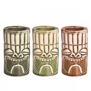 Pahar TIKI - Set Shoturi - 40 ml - 3 buc