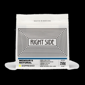 Right Side - Etiopia - Mensur's Natural - Espresso 250g