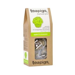 teapigs Apple & Cinnamon - 15 Plicuri de ceai