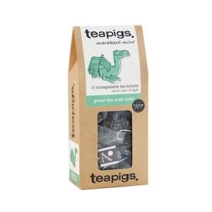 teapigs Green Tea with Mint - 15 Plicuri de ceai